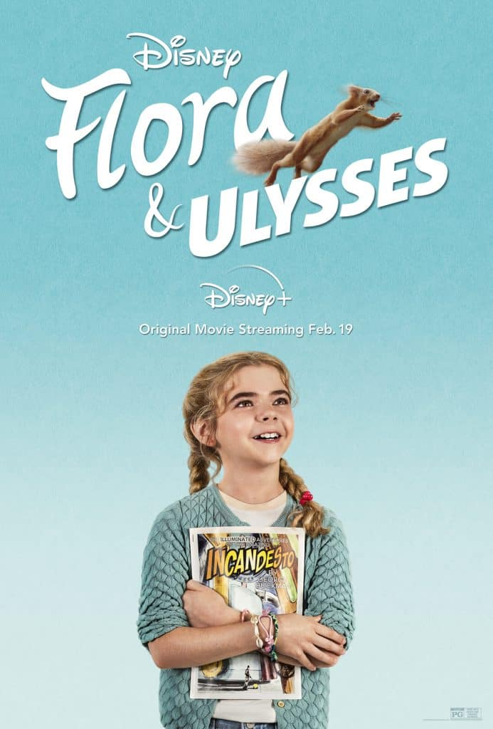 flora & ulyness, disney plus, dec 2020