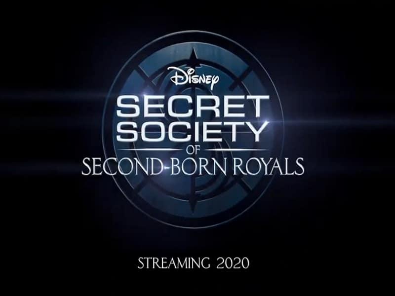 secret society of second born royals, disney plus