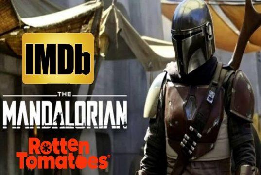 the-mandalorian-serie-disney-plus, imdb, rotten tomatoes