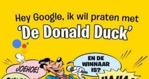 disney, donald duck, google assistant