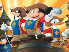 mickey, donald, goofy the three musketeers, disney plus
