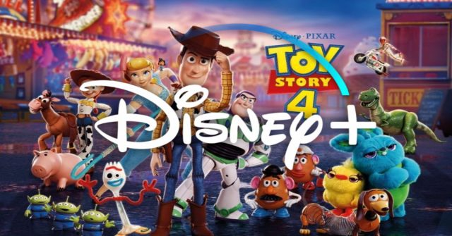 toy story 4, disney plus, release