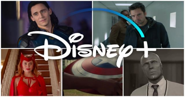 loki, falcon and the winter soldier en wandavision, disney plus