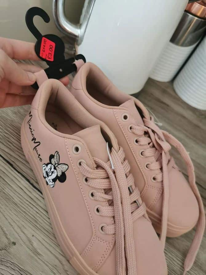 minnie mouse sneakers, primark