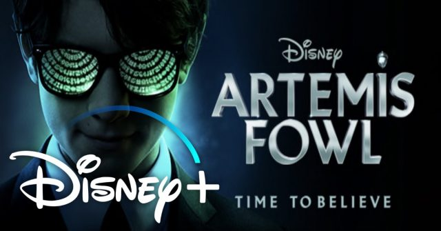 artemis fowl, disney plus, 3 april 2020