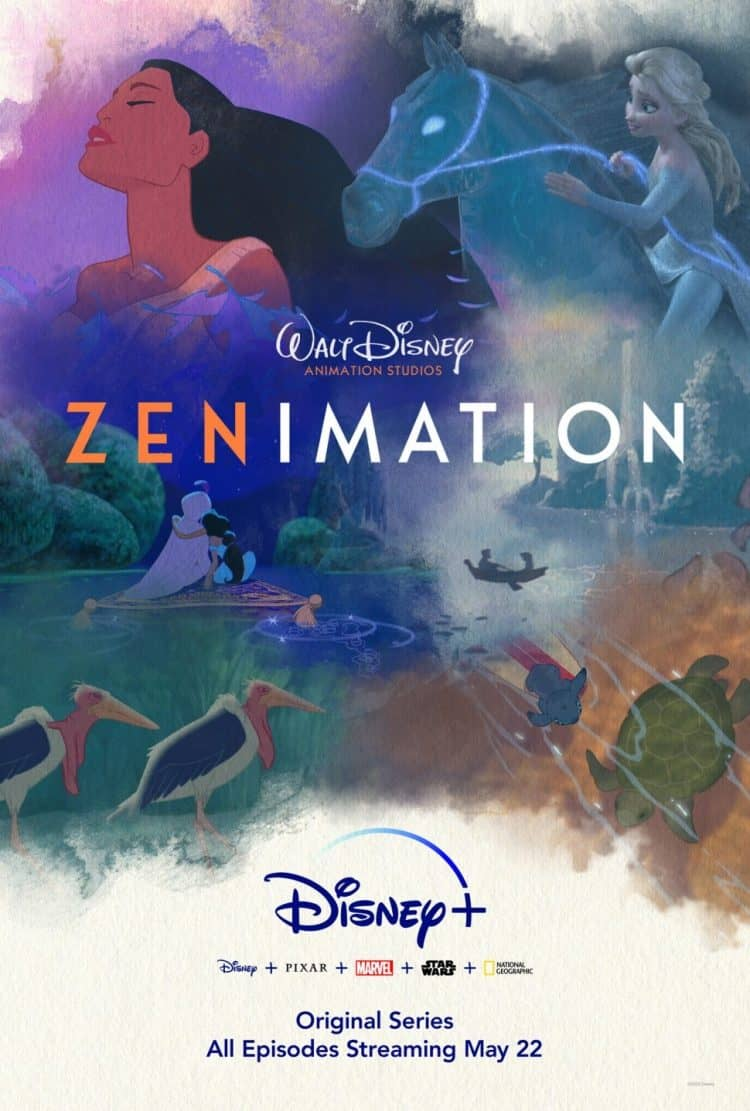 zenimation, disney plus