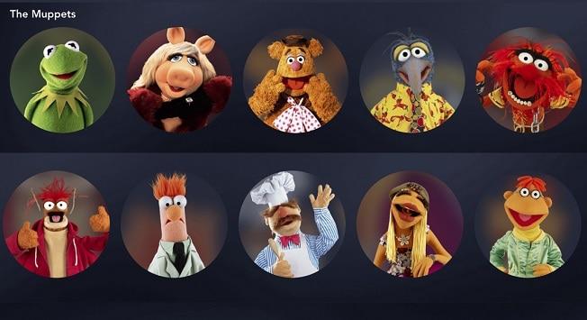 muppets avatars, disney plus