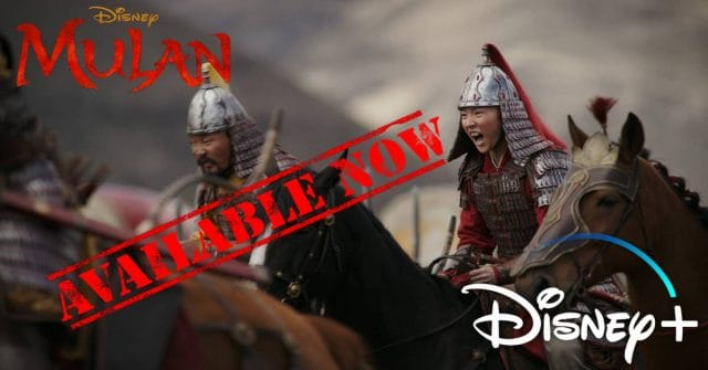 mulan, disney plus, paard-