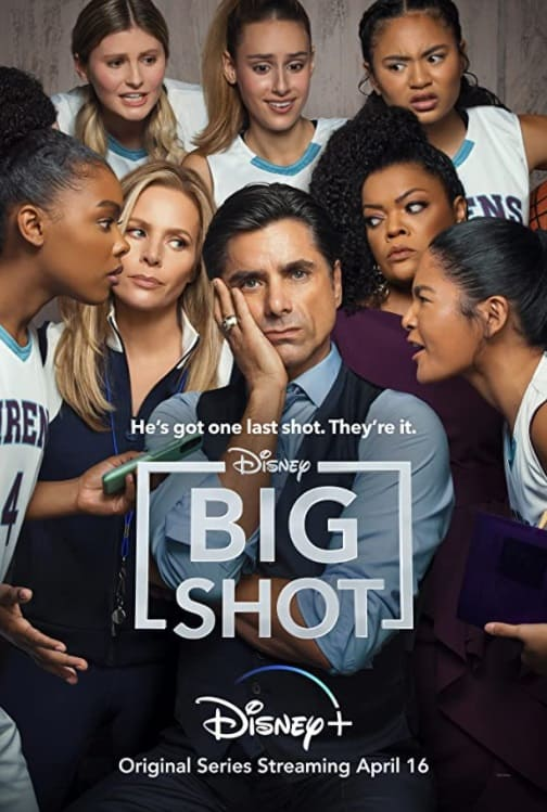 big shot, disney plus