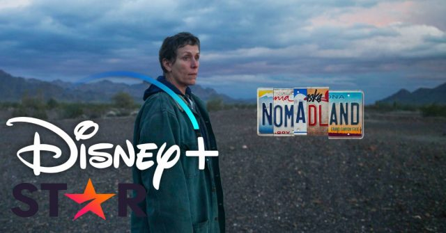 nomadland, disney plus star, disney+