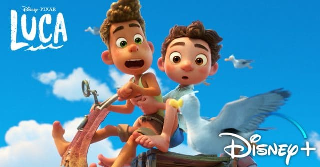 luca disney plus, disney+, pixar