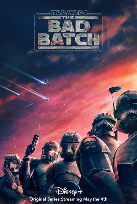 star wars bad batch disney plus, disney+